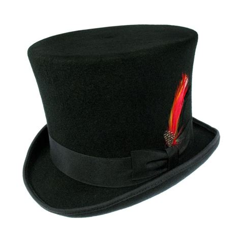 Hats To You by B2b Jaxon Top Hat Black Top Hats