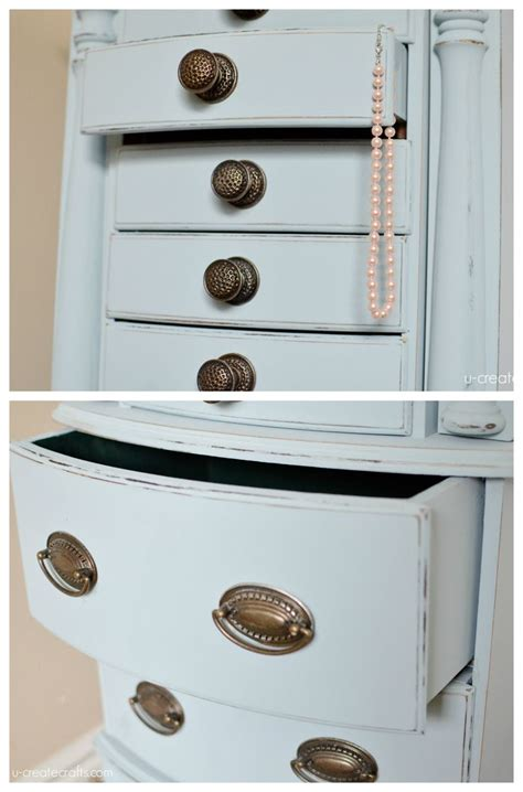 jewelry armoire makeover make your jewelry armoire look as good as its contents