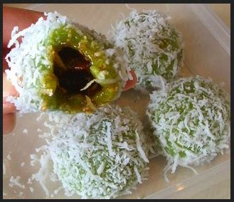 Cara Membuat Onde Onde Isi Gula Melaka | resep kue onde onde isi gula merah mini ketawa menu