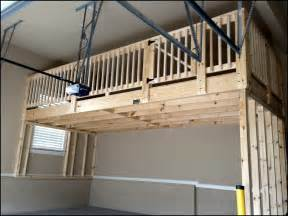 Garage Loft Design Building Garage Storage Loft How To Build Garage Storage Loft Good