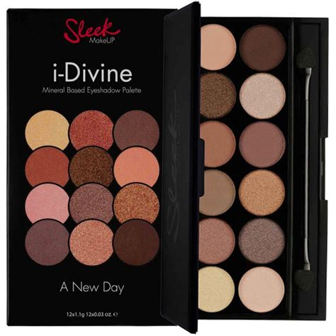 Eyeshadow Sleek sleek makeup i palette 12 shades mineral based