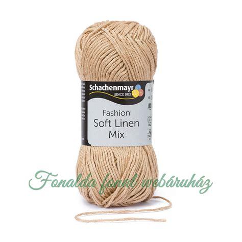 Premix Soft schachenmayr soft linen mix k 246 tőfonal fonalda fonal web 225 ruh 225 z