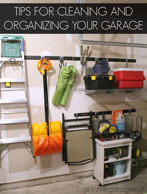 7 Tips On Cleaning A Garage by Tips For Cleaning Organizing The Garage In The Garage 174