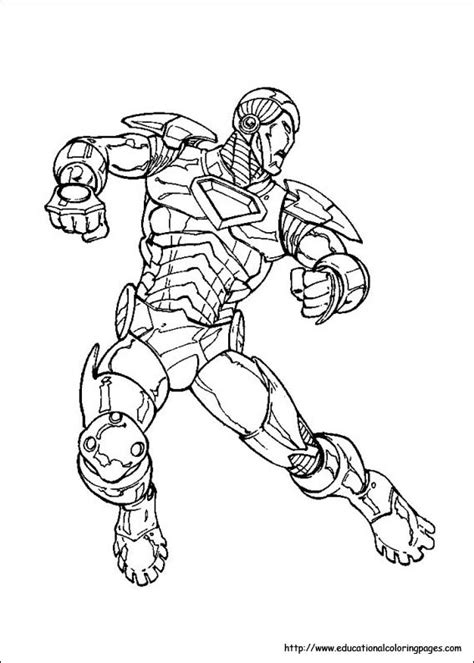 Iron Man Coloring Pages Free For Kids Iron Coloring Pages Free
