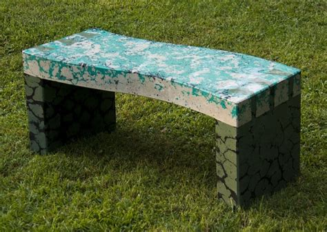 custom concrete benches custom dovetail bench in concrete by artisans of the