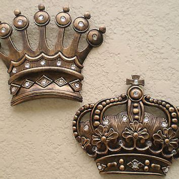 crown decor wall decor his and hers crown wall decor for the best