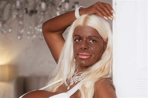 martina big dark skin meet martina the german white model who took injections