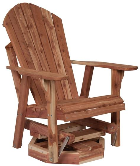 amish outdoor swivel glider chair amish adirondack chair swivel glider