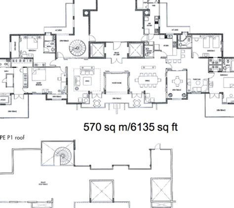 floor plan caribbean at keppel bay at 42 keppel bay penthousecaribbean