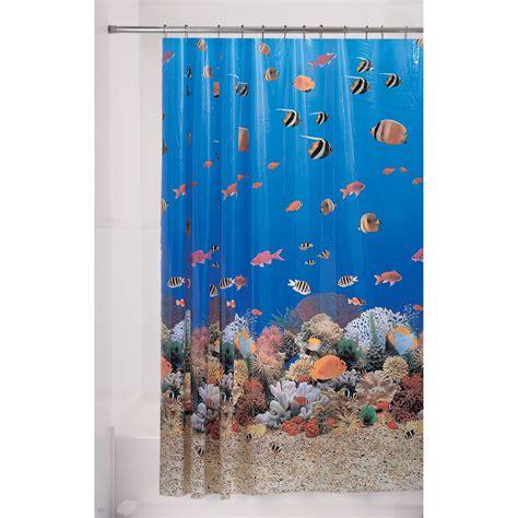 Fish Curtains fish shower curtain sears