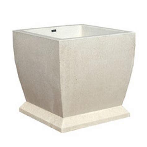 square concrete planter square planter 30x30 in concrete