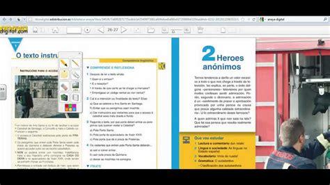 libro savia lengua castellana y libro digital del profesor anaya youtube