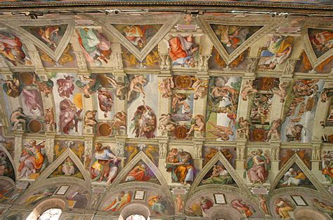 Where Is The Sistine Chapel Ceiling Located by During The Renaissance Period Watercolor Journal