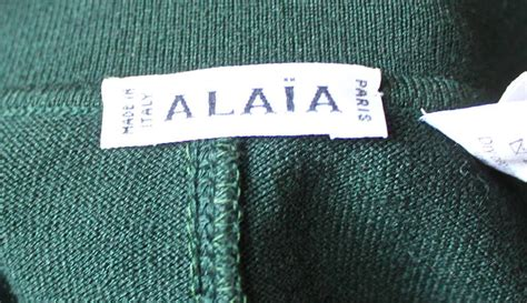 30535 Green Stripe 1990 S M L Top 1990 s azzedine alaia forest green seamed bodysuit and a