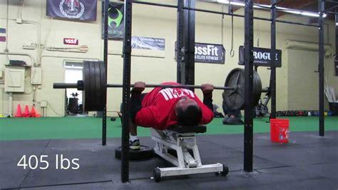 monster bench press higa monster bench press workout 1 29 14 for rum 7 youtube