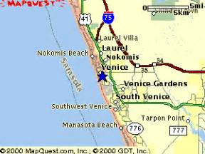 where is venice florida on the map venice florida map