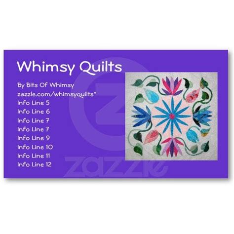 Whimsical Business Card Templates by 53 Best Quilters Business Cards Images On