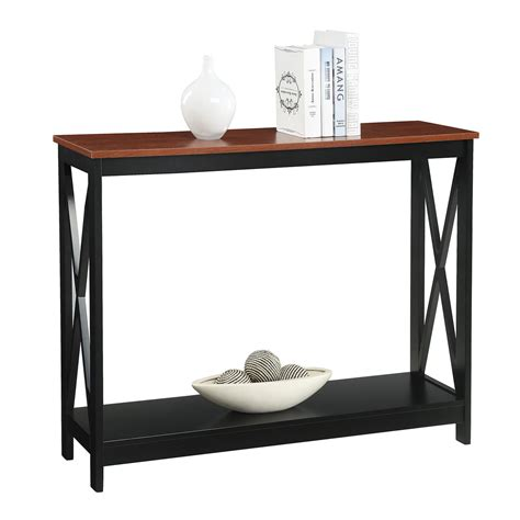 Sofa Tables On Sale Convenience Concepts Oxford Cherry Console Table On Sale