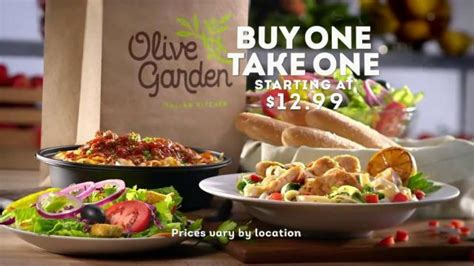 Order Olive Garden by Freebies Bargains Coupons Buy One Meal Get One Free