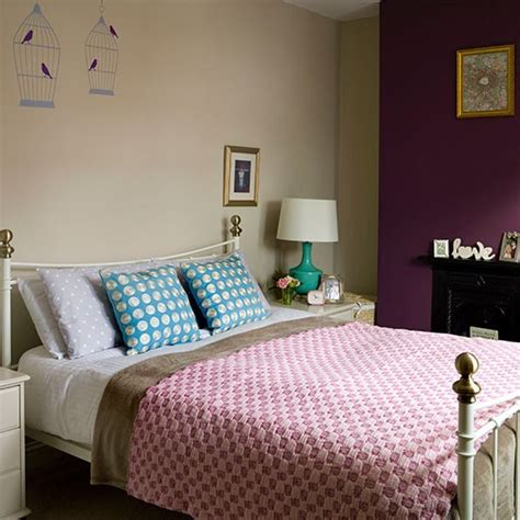 Cream And Plum Bedroom Bedroom Decorating Housetohome Plum Bedroom Decorating Ideas