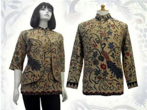Baju Batik Korset Tali Model Jakarta model baju batik atasan terbaru terpopuler saat ini