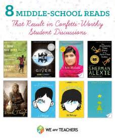 books for high school graduates middle school reads that result in confetti worthy student discussions middle school
