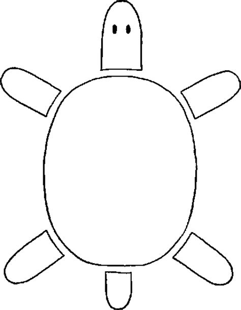 sea turtle cut out pictures to pin on pinsdaddy