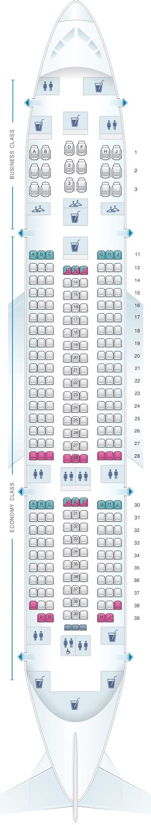 air india seat selection plan de cabine air india boeing b787 dreamliner