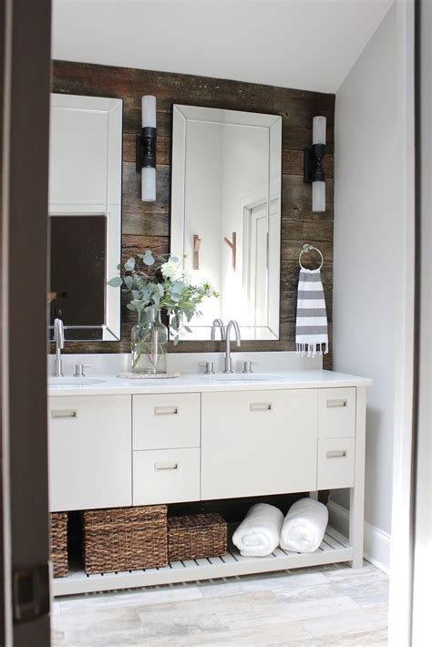 best decor design indulgence before and after modern rustic bathroom