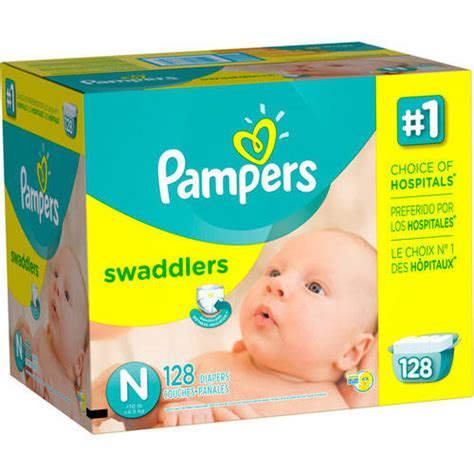 diapers walmart pers swaddlers newborn diapers pack 128 count walmart