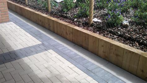 Sleeper Garden Wall dawlish railway sleepers for retaining wall