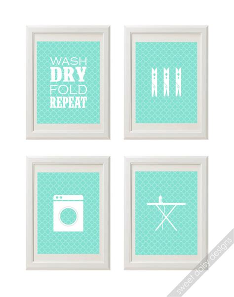 free printable laundry wall art items similar to printable laundry room wall art 4 laundry
