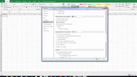 worksheet tabs disappeared in excel 2013 breadandhearth