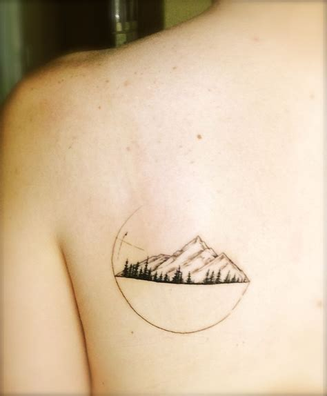 moutain tattoo mountains tattoologist