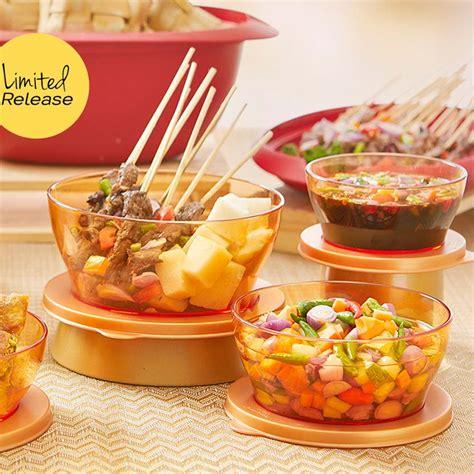 clear bowl set 3 tupperware katalog promo tupperware
