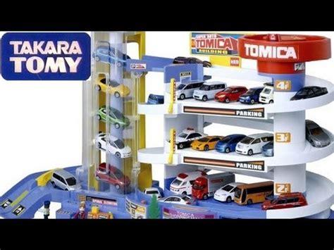 Tomica Auto Parking Garage by Tomica Auto Parking Garage Playset Takara Tomy Using Small