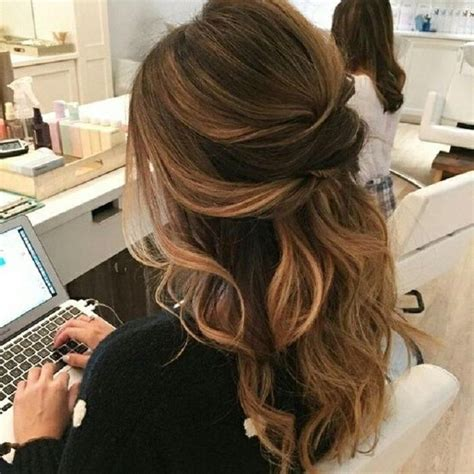 25 best long hairstyles for 2018 half ups upstyles plus 2018 popular long hairstyles half up