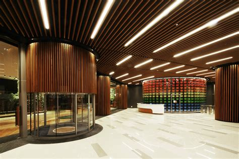 interior design architects office lobby 4n design architects arch2o