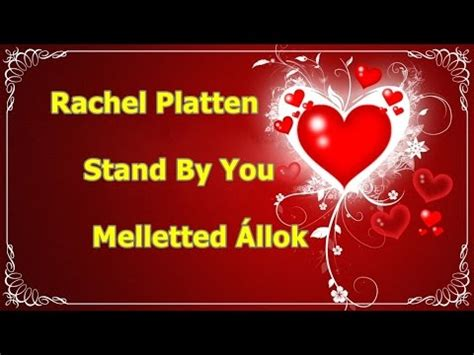 youtube rachel platten stand by you rachel platten stand by you magyar ford melletted