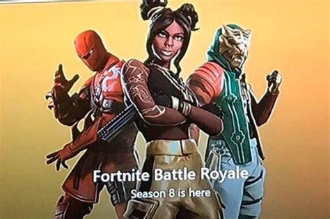 fortnite season  leaks  skins   revealed