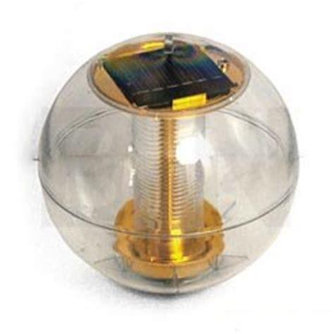 Amazon Com 6 3 Quot Floating Solar Powered Pond Lights Pet Floating Solar Lights For Ponds