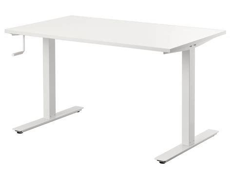 ikea skarsta is a solid adjustable size standing