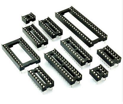 16 pin dip integrated circuit socket 50pcs ic integrated circuit 16 pin dip ic sockets in integrated circuits from electronic