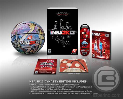 Limited Bola Basket Spalding Nba nba 2k13 dynasty edition coming to america