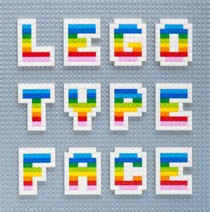 lego font minieco