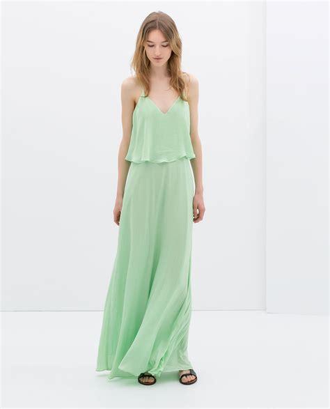 Zahra Maxy Dress zara maxi dress with low cut back ref 2590 098 new season