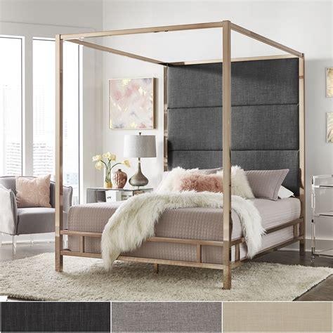 decorative bed canopy amazon com oliver smith modern heavy duty black iron metal