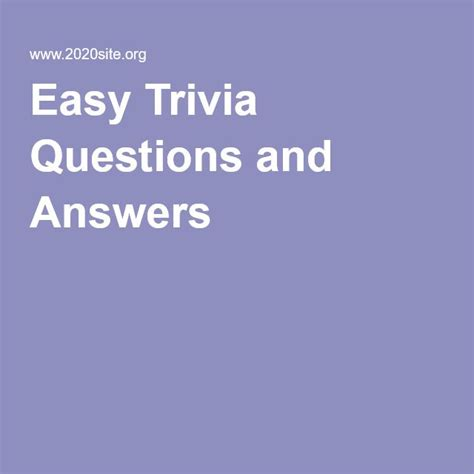 easy trivia questions for seniors 36 best activity director images on pinterest family
