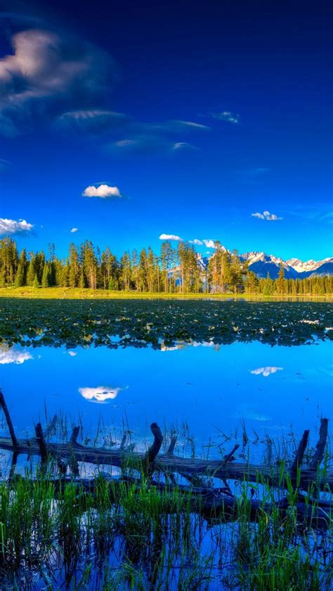 wallpaper iphone 5 landscape blue landscape iphone 5s wallpaper download more in