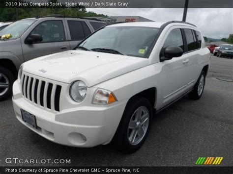 jeep compass sport white white 2010 jeep compass sport slate gray